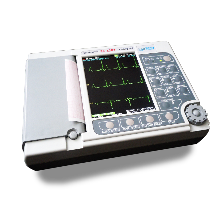 EC-12RT 12 Lead ECG Machine - Biomed Services